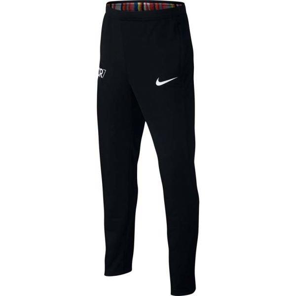 Černé dětské tepláky Nike