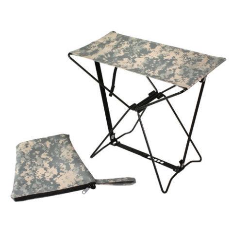 Kempingová židle - Stolička skládací ARMY ACU DIGITAL