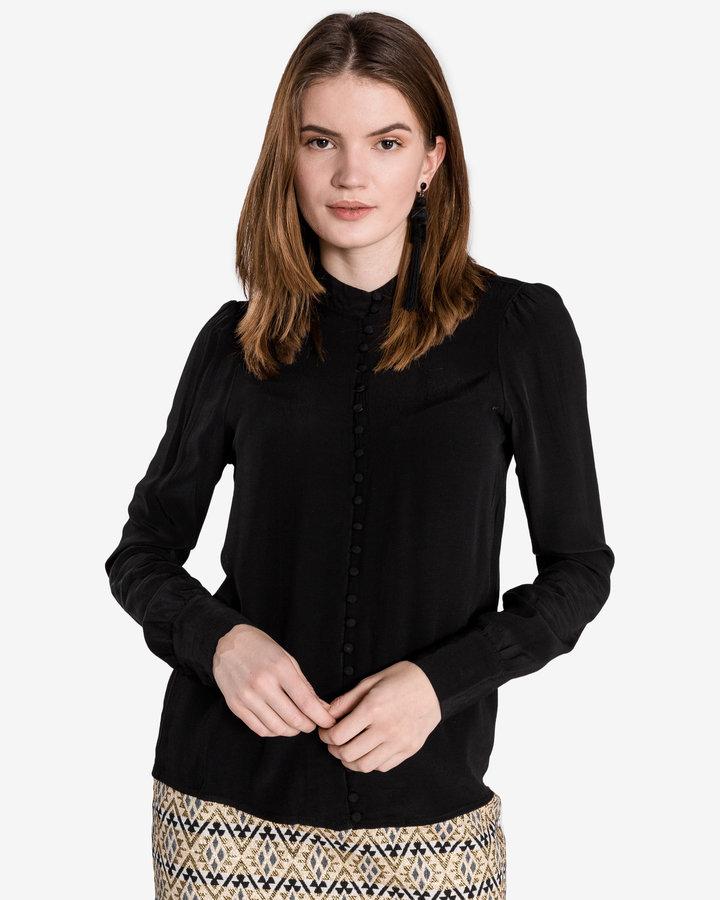 Černá dámská košile s dlouhým rukávem Vero Moda