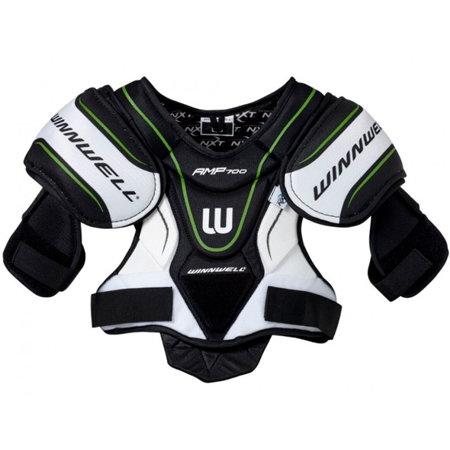 Bílý hokejový chránič ramen - senior Winnwell