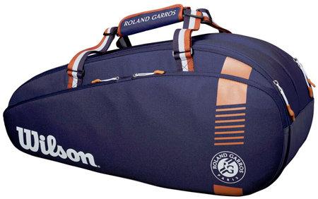 Tenisová taška - Wilson Roland Garros Team 6PK Navy 2020