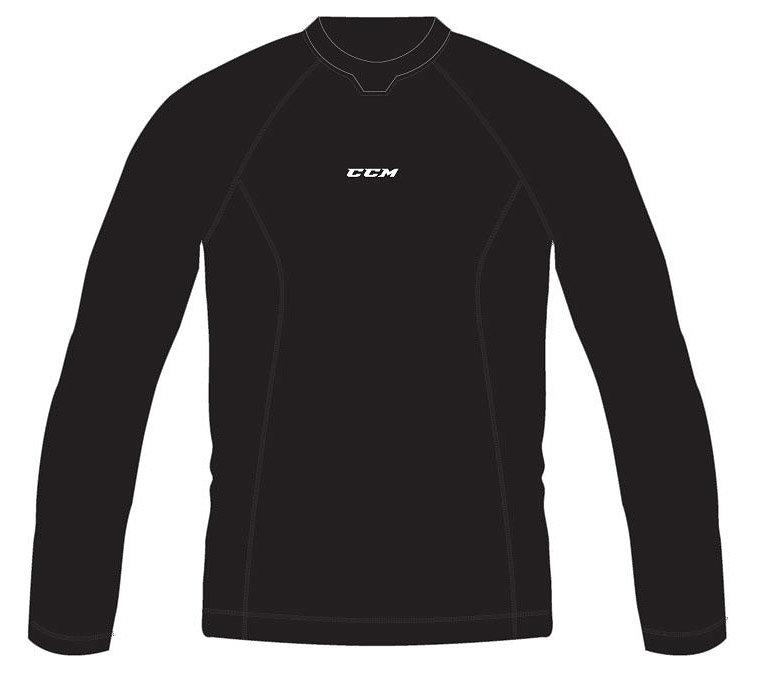 Černé dvojdílné pánské hokejové ribano Perf Compression, CCM