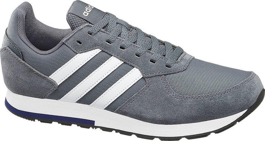 Šedé pánské tenisky Adidas - velikost 40 EU