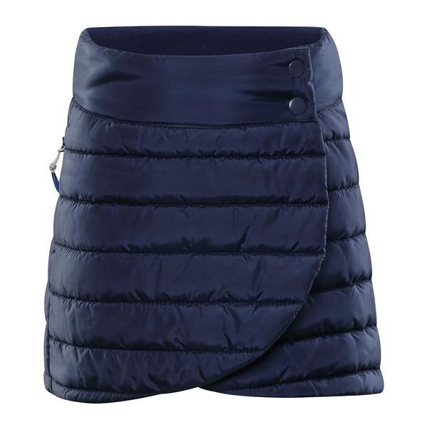Černá zimní dívčí sukně Alpine Pro - velikost 116-122