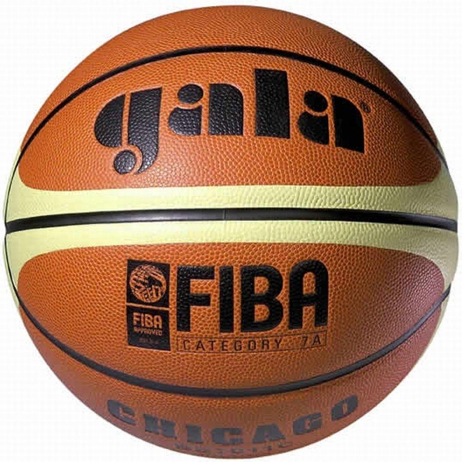 Oranžovo-žlutý basketbalový míč Chicago, Gala