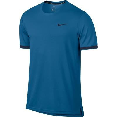 Modré pánské tenisové tričko Nike