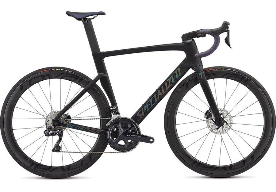 Černý silniční pánský bicykl Specialized