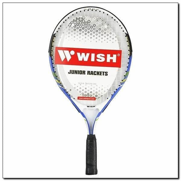 Modrá tenisová raketa Wish