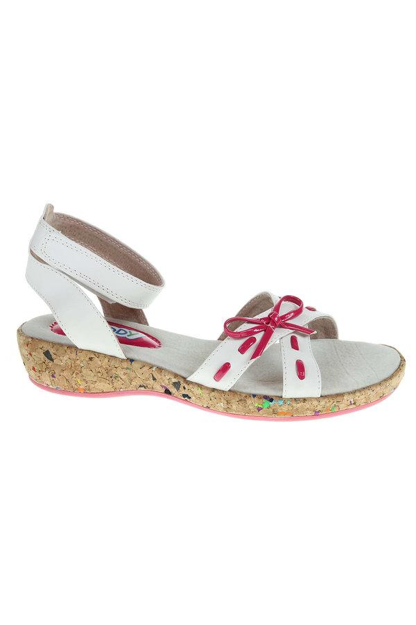 Bílé sandály Rejnok Dovoz