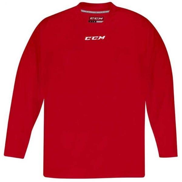 Červený tréninkový pánský hokejový dres CCM
