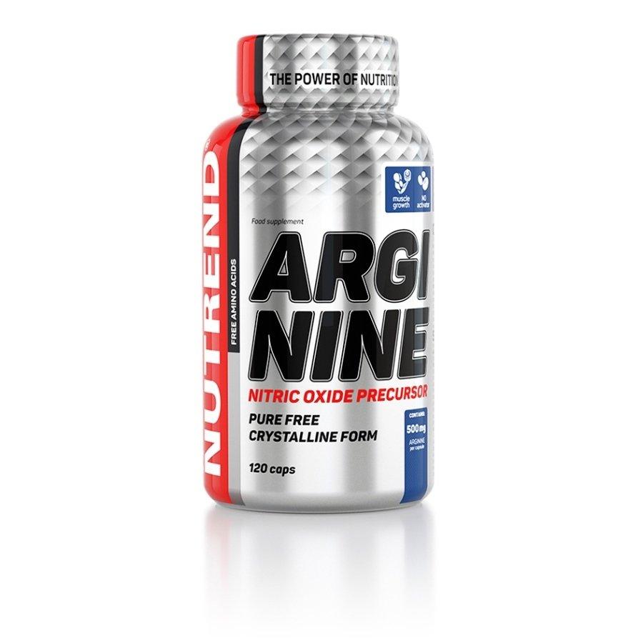 L-Arginin - Aminokyseliny Nutrend Arginine 120 kapslí