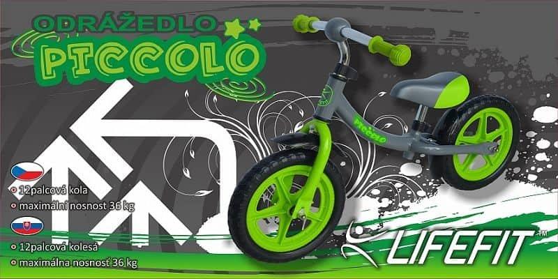 Zelené dětské odrážedlo Rulyt