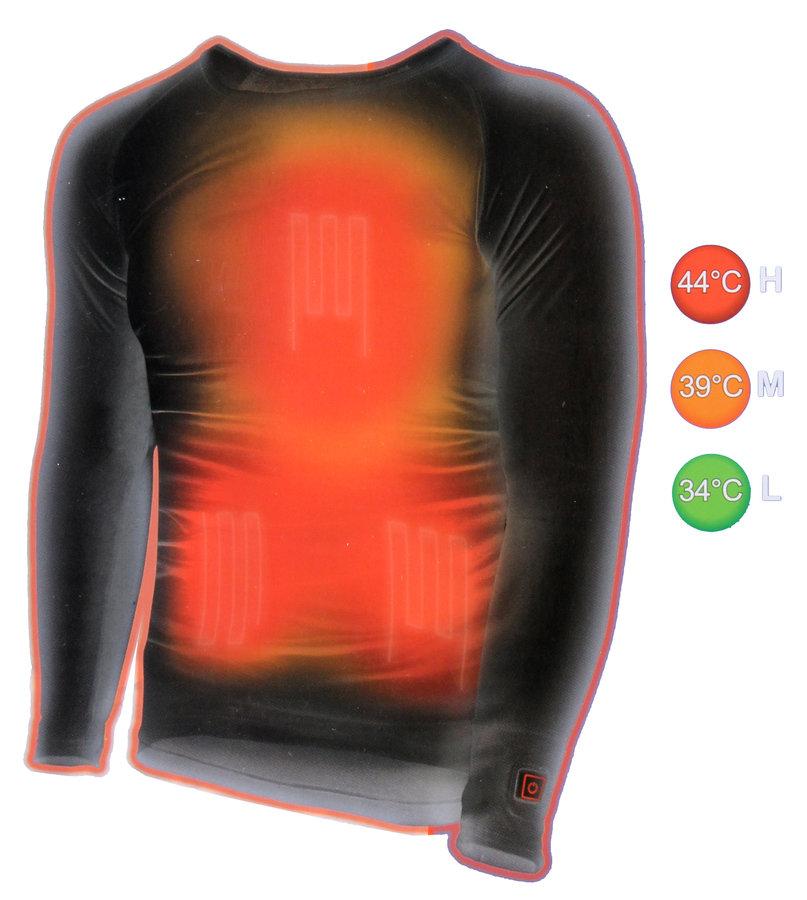 Pánské funkční tričko s dlouhým rukávem ThermoSoles&Gloves