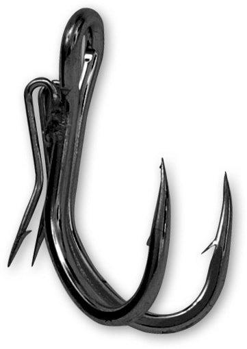 Dvojháček Ghost Double Hook, Black Cat - 5 ks