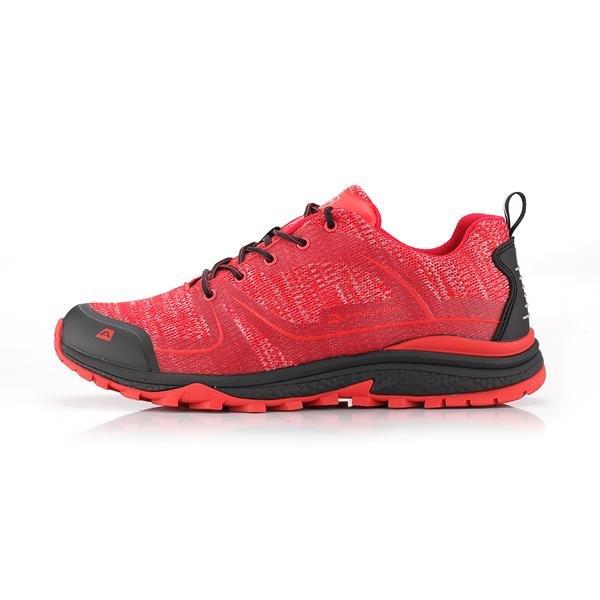Růžové trekové boty Alpine Pro - velikost 42 EU