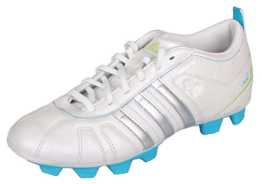 Bílé dětské kopačky lisovky adiNova IV TRX FG, Adidas