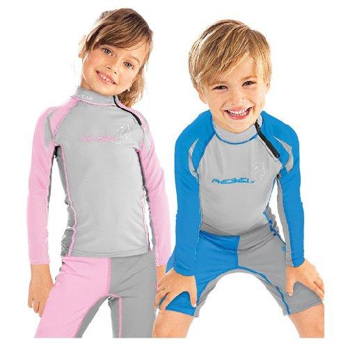 Šedé dětské lycrové triko Wizadr, Subgear - velikost 128