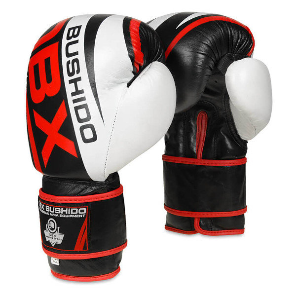 Černé boxerské rukavice BUSHIDO