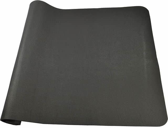 Černá zátěžová podložka Acra - délka 140 cm a šířka 80 cm