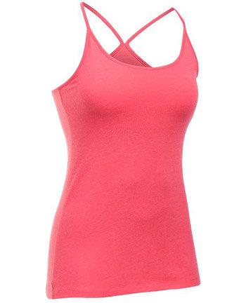 Růžové dámské tenisové tílko Under Armour - velikost L