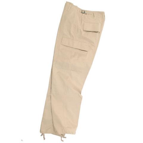 Kalhoty - Kalhoty US BDU polní rip-stop KHAKI