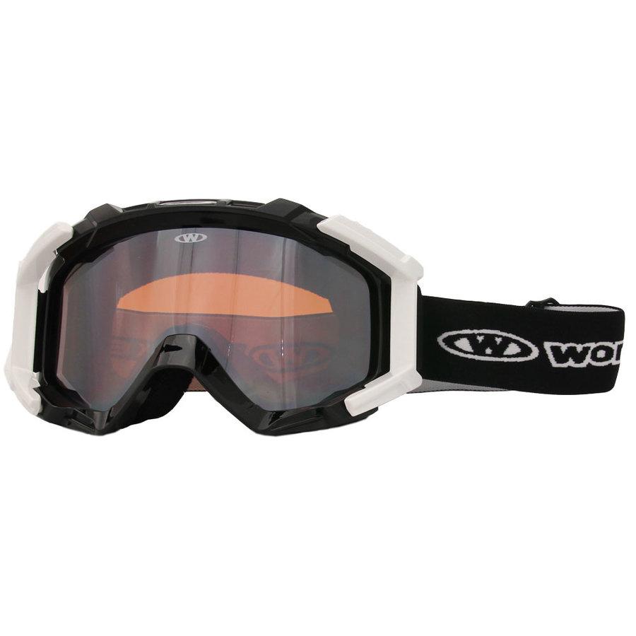 Lyžařské brýle - Lyžařské brýle WORKER Simon černá