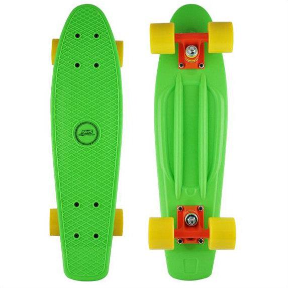 Zelený pennyboard Nils Extreme