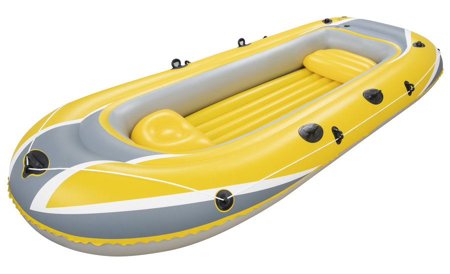 Člun s nafukovacím dnem pro 3 osoby + 1 dítě Hydro Force, BESTWAY