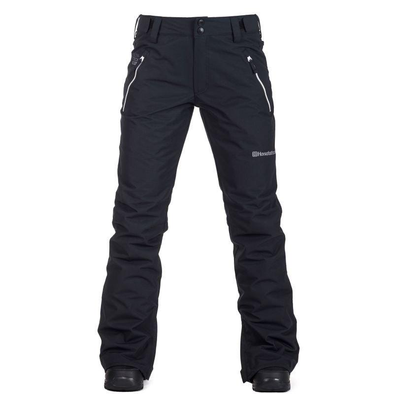 Černé dámské snowboardové kalhoty Horsefeathers
