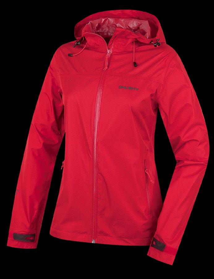 Červená dámská bunda Husky - velikost M