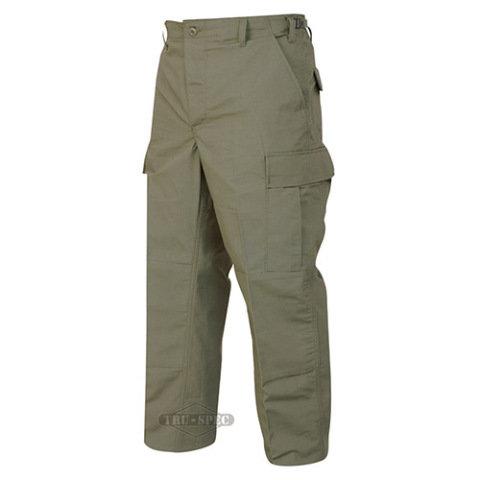 Kalhoty - Kalhoty BDU P/C rip-stop ZELENÉ