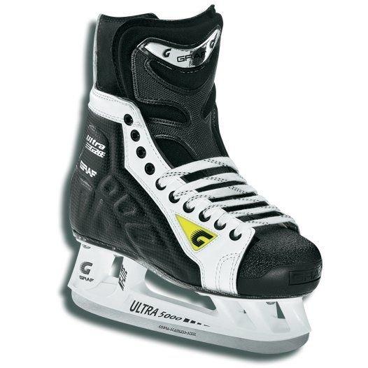 Pánské hokejové brusle Ultra G70, Graf - velikost 42,5 EU