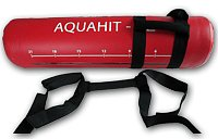 Červený posilovací vak Aquahit - 20 kg