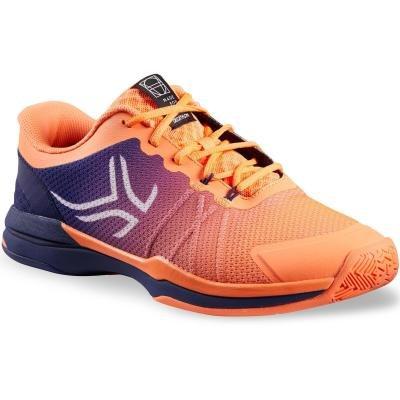 Oranžové pánské tenisové boty - obuv TS 590, Artengo - velikost 45 EU