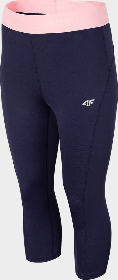 Modré dámské funkční kalhoty 4F - velikost XS