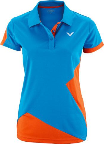 Modré dámské funkční tričko s krátkým rukávem Victor