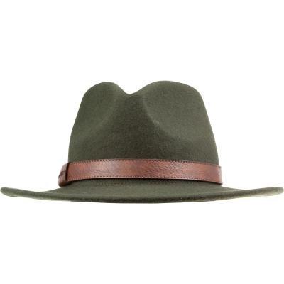 Zelený lovecký klobouk Solognac - velikost 56 cm