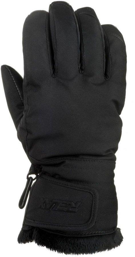 Černé dámské snowboardové rukavice Relax - velikost XS