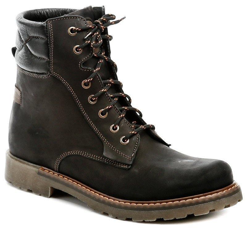 Černé pánské zimní boty KOMA - velikost 45 EU