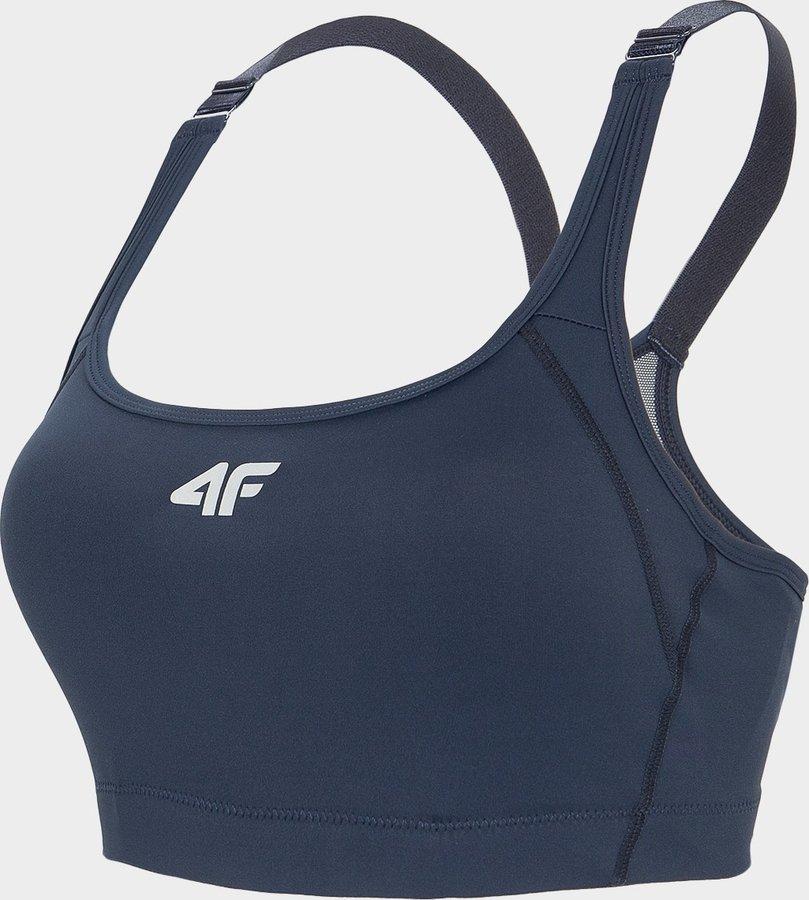Modrá sportovní dámská podprsenka 4F - velikost XS