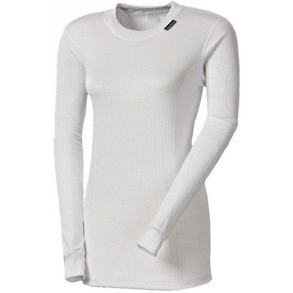 Bílé dámské funkční tričko s dlouhým rukávem Progress - velikost M