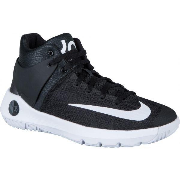 Modré dětské basketbalové boty Nike