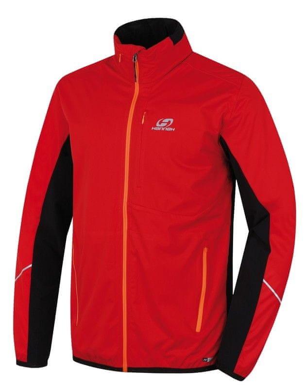 Červená pánská bunda na běžky Hannah