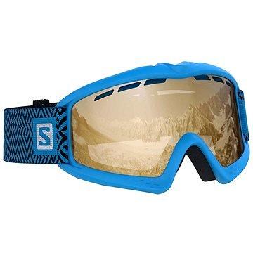 Modro-oranžové dětské lyžařské brýle Salomon
