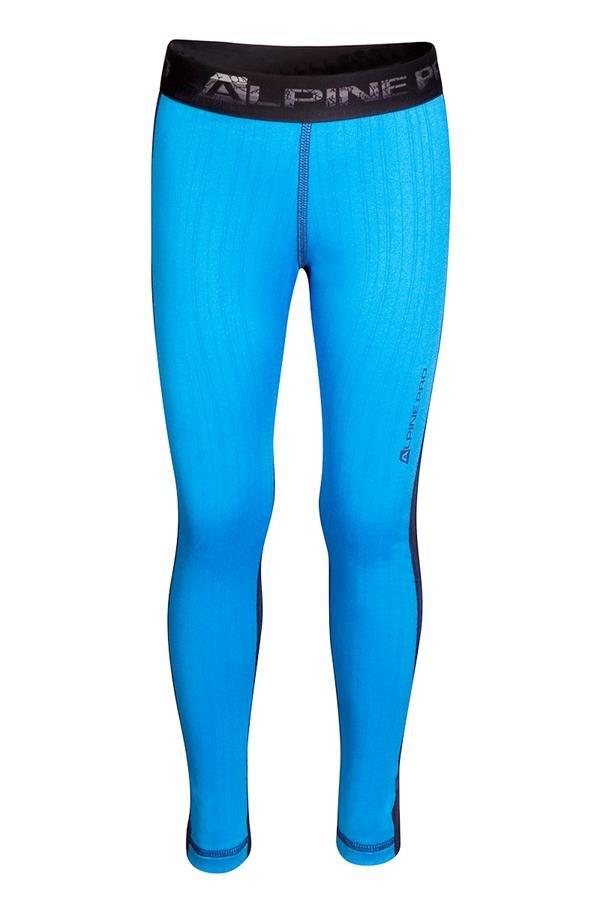 Modré dětské funkční kalhoty Alpine Pro - velikost L