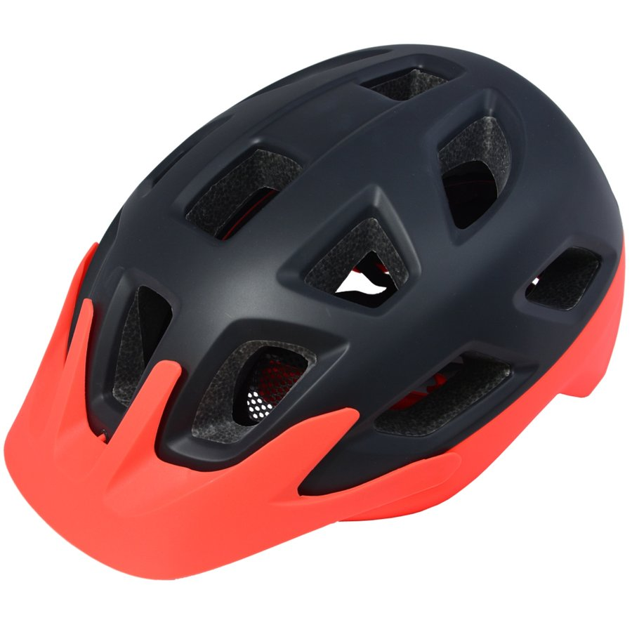 Černá cyklistická helma Maxbike