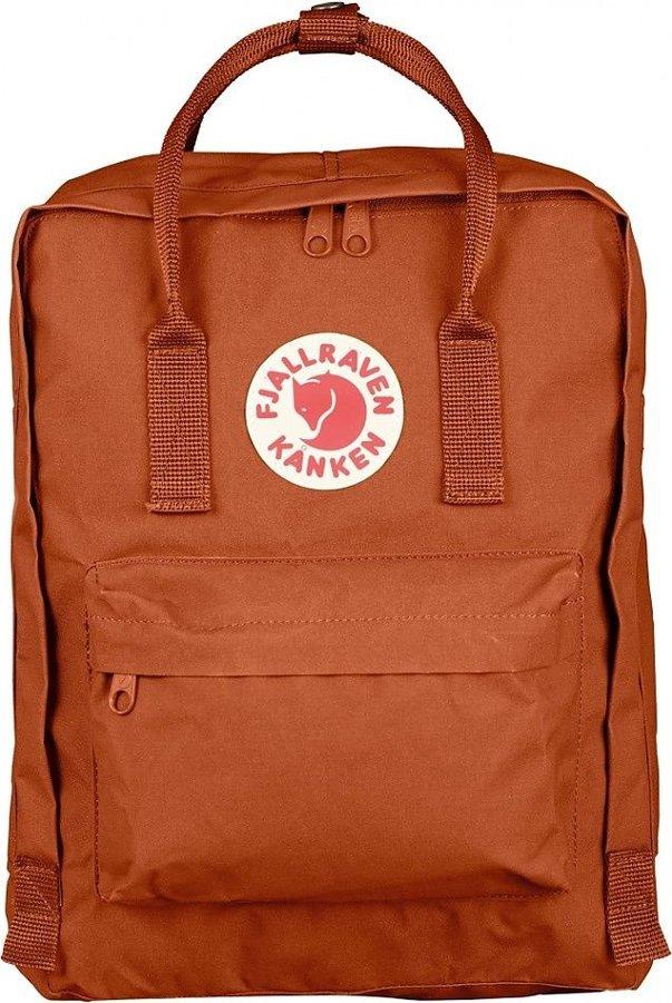 Oranžový turistický batoh Fjällräven - objem 16 l