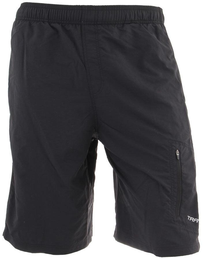Cyklistické kalhoty - Pánské bermudy Axon Trayl I Velikost: XL / Barva: černá