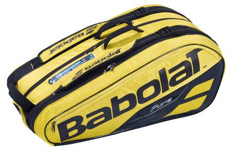 Černo-žlutá tenisová taška Pure Aero X9, Babolat