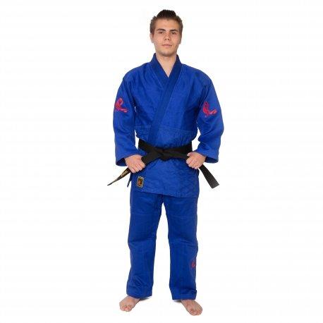 Modré kimono na judo MASUTAZU - velikost 160